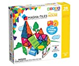 Magna Tiles House Set, The Original, Award-Winning Magnetic Building, Creativity & Educational, Stem Approved, Solid & Clear Colors