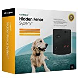 Sit Boo-Boo Electric Fence Advanced - Latest All Weather Pet Containment System - In Ground & Above Ground Installation - IPV7 Waterproof Collar for Pets Over 10lbs