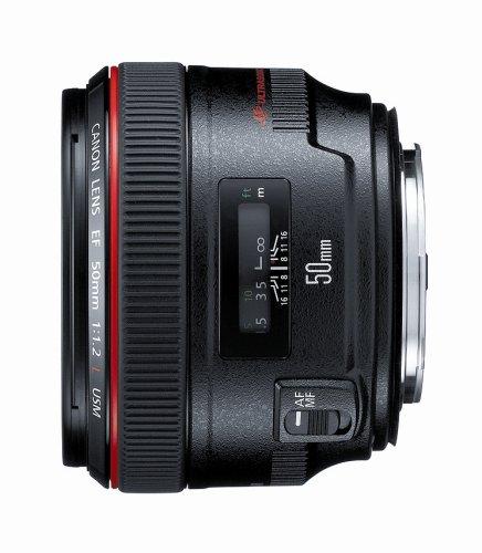 Canon EF 50mm f/1.2 L USM Lens for Canon Digital SLR Cameras - Fixed