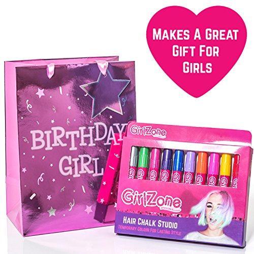 HAIR CHALKS CHRISTMAS GIFT: 10 Colorful Hair Chalk Pens. Temporary ...