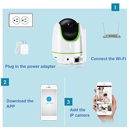 Annke SP3 960P HD WiFi IP Camera,Wire-Free Design Baby