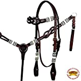 Product review for HILASON WESTERN LEATHER HORSE BRIDLE HEADSTALL BREAST COLLAR BROWN RAWHIDE
