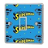 Various Superman Light Switch Sticker Vinyl / Skin Cover Sw9