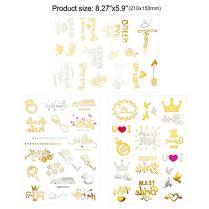 Howaf-134-Tatouage-EVJF-Team-Bride-Tatouages-phmres-Bride-Tatouage-Enterrement-De-Vie-De-Jeune-Fille-Accessoire-Decorations-Mariage
