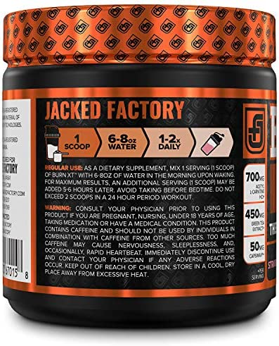 Burn-XT Thermogenic Fat Burner Powder - Weight Loss Supplement, Appetite Suppressant, Pre Workout Energy Booster - Acetyl L Carnitine, Green Tea Extract (EGCG), Capsimax - 30 Sv, Strawberry Lemonade 5