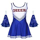 Jojobaby Women's Musical Uniform Fancy Dress Costume Complete Outfit (X-Large, Blue)