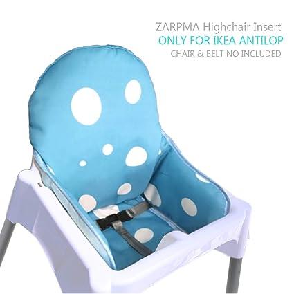 Zarpma Ikea Antilop Cuscino Per Seggiolone Nuova Versione Coprisedili Per Seggiolone Più Spessa Lavabile E Pieghevole Seggiolone Inserisci