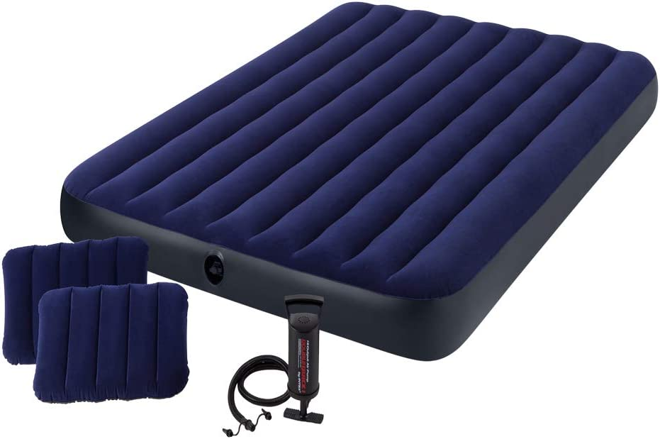 best air mattress Intex Classic Downy Airbed Set