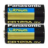 Panasonic 30212 Lithium 3V Photo Lithium Battery cr123 (Double Pack)