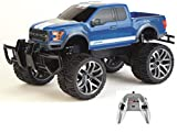 Carrera 142026 RC Officially Licensed Ford F-150 Raptor Remote Control Vehicle with 2.4 Ghz Controller, Blue, 1: 14 Scale