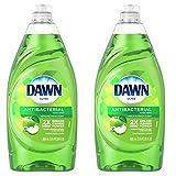 Dawn Ultra Antibacterial Hand Soap Apple Blossom Scent Dishwashing Liquid (2) 28 Ounce Bottles