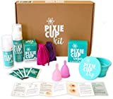 Menstrual Cup Starter Kit - Everything You Need and Perfect for Beginners - Best Way to Learn Period Cups
