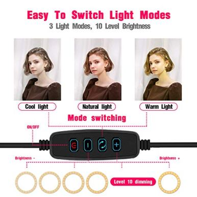 LED-Ring-Light-with-Phone-Tripod-Stand-Kit-Yingnuost-10-Camera-Photography-Video-Recording-Selfie-Ringlight-with-Tablet-Holder-for-iPad-iPhone-Android-Cell-Phones