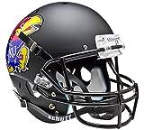 Kansas Jayhawks Black Officially Licensed Full Size XP Replica Football Helmet