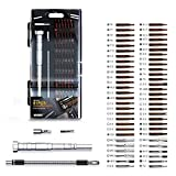 JAKEMY 61 in 1 S-2 Bits Precision Screwdriver Set Professional Repair Tool Kit Screwdriver Tool Kit with Flexible Shaft for iPhone X and other Smart Phone/Tablet/PC/Macbook/Game Console