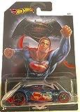 Hot Wheels 2016 Covelight Batman vs Superman DC Comics Exclusive Blue 4/7, Long Card by Mattel