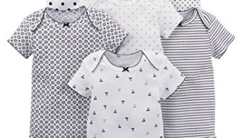 9489732962 Simple Joys by Carter s Baby Girls 5-Pack Long-Sleeve Bodysuit – Get ...
