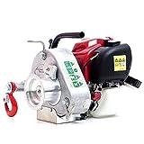 Portable Gas-Powered Capstan Winch - 35cc Honda Engine, 1,550-Lb. Line Pull, Model# PCW3000