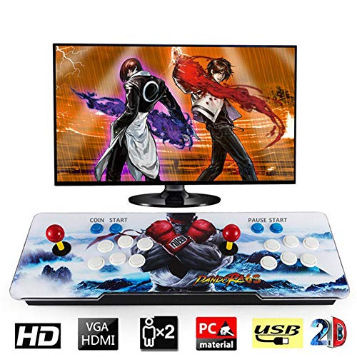 Barbella 1500 Classic Pandora Box 6s Arcade Console 1280x720 Full HD Video Game Console with HDMI VGA USB for TV PC Retro Arcade Gaming Console