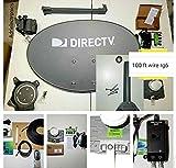 New AT&T Complete Directv 4K Satellite Dish Full HD Sat 101' 110' 119' 103' 99' 95 Reverse Band Last Test Full English, Spanish & Local Station FULL lLive 24/7 Tech Support