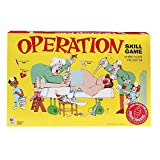 Operation Electronic Board Game With Cards Kids Skill Game Ages 6 and Up (Amazon Exclusive)