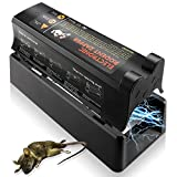 ASprink Electronic Rodent Trap, Effective and Powerful Killer Eliminate Rats, Mice No Touch, No See-Reusable