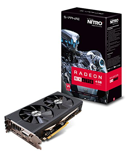 Sapphire Radeon NITRO+ Rx 470 4GB GDDR5 Dual HDMI / DVI-D / Dual DP OC w/ backplate (UEFI) PCI-E Graphics Card Graphics Cards 11256-01-20G