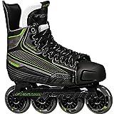 Tour Hockey Code 9 SR Inline Hockey Skate, Black/White/Red, 11