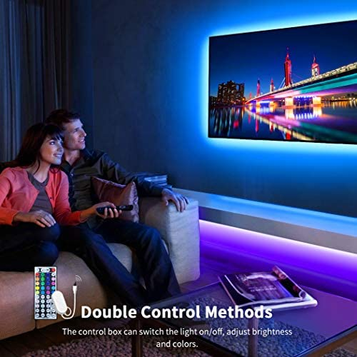 Govee LED Strip Lights, 32.8FT RGB LED Lights with Remote Control, 20 Colors and DIY Mode Color Changing LED Lights, Easy Installation Light Strip for Bedroom, Ceiling, Kitchen (2x16.4FT) 13