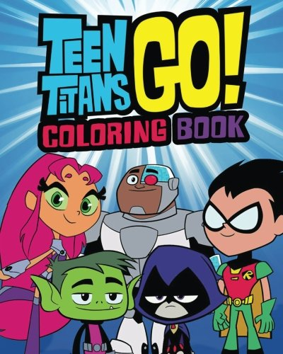 Amazon Com Teen Titans Go Coloring Book Coloring Book 9781987514858 Lawrence Jim Books