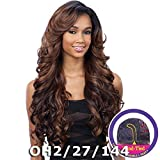 FreeTress Equal Lace Deep Invisible 'L' Part Lace Front Wig - KARISSA (1B Off Black)