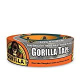Gorilla Tape, Silver Duct Tape, 1.88' x 35 yd, Silver, (Pack of 1)