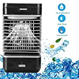 JJML-G Mini Portable air Conditioner Air Cooler Desktop air Cooler Adjusting The humidifier Home Office Fan USB Charging