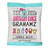 Zee Zees Birthday Cake Grahamz, Nut Free, Whole Grain, 1 oz, 24 pack