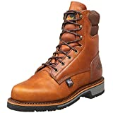 Thorogood 814-4549 Men's American Heritage 8' Classic Plain Toe, Non-Safety Toe Boot, Tobacco Oil-Tanned - 13 2E US