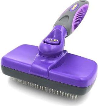 Hertzko Self Cleaning Slicker Brush - Best Slicker Brush for Golden Retriever