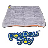 Dogs Blanket, PETPAWJOY Crate Pad Cat Bed Dog Crate Cushions Pad Washable Filling Pads Soft Furry Pet Bed Mat 30x26x1.5 inch