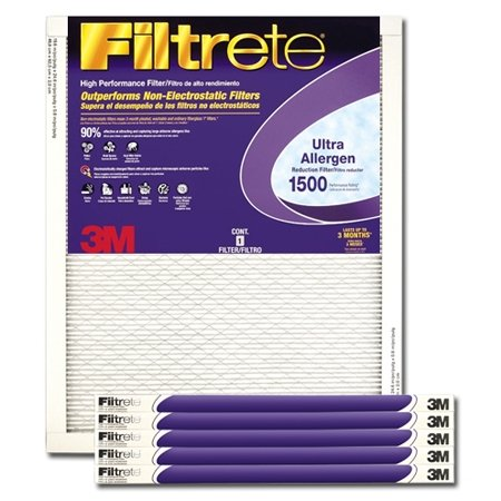 20x24x1 3M Filtrete Ultra Allergen Filter (1-Pack)