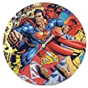 "Superman 7"" Decoupage Wall Clock"