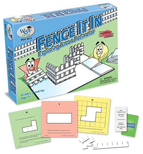 Learning Advantage 4612 Fence It In: Exploring Area and Perimeter game, Grade: 2, 20.3