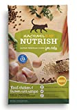 Rachael Ray Nutrish Natural Dry Cat Food, Chicken & Brown Rice Recipe, 6 lbs