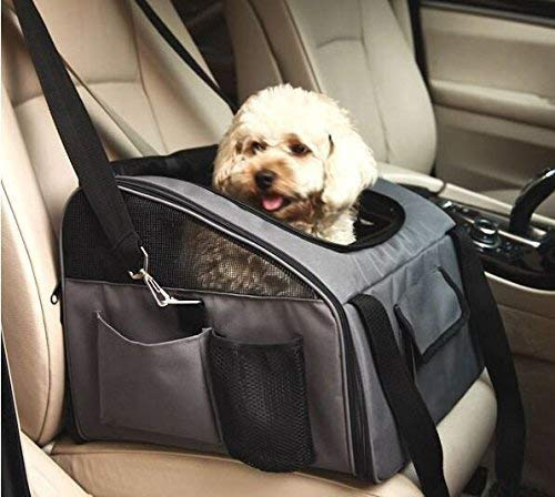 WOpet Pet Car Seat Carrier Airline Approved For Dog Cat Puppy Small Pets Travel Cage L Size Weight up to 15lbs 1