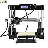 Anet Auto Leveling A8 3D Printer with Included Filament, 0.4mm Extrude Nozzle, Tools, Auto Level Sensor - Reprap i3 DIY 3D Printer Kit Self Levelling Sensor