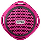 HMDX HX-P310PK HoMedics Flow Rugged Wireless Speaker (Pink)