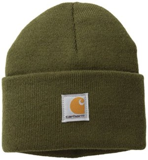 Carhartt Kids' Acrylic Watch Hat, Ivy Green, Toddler
