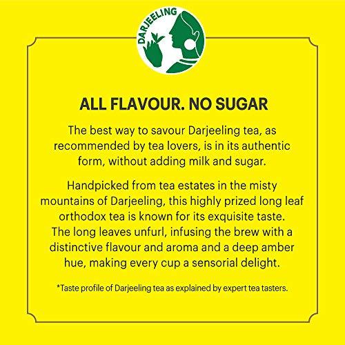 514U1ud3DNL - Lipton Darjeeling Long Leaf Tea, 100 Percent Pure and Authentic Darjeeling Tea, 250 g