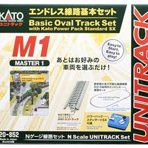 Kato 20-852 M1 basic oval starter track set with controller 514UFIEZ6qL
