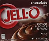 Jell-O Chocolate Instant Pudding & Pie Filling (4-Pack)