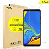 [2-Pack] VIKEE Screen Protector for Samsung Galaxy A9 (2018), HD Anti-Scratch Anti-Fingerprint No-Bubble 9H Hardness Tempered Glass with Lifetime Replacement Warranty