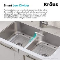 Kraus-KCA-1200-Ellis-Combo-Set-with-33-16-Gauge-Undermount-Sink-and-Bolden-18-inch-Pull-Down-Commercial-Style-Kitchen-Faucet-Spot-Free-Stainless-Steel